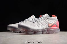 a32057a8292 Nike Air VaporMax 2018 2.0 Flyknit Grey Purple Pink Women Shoes