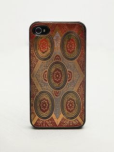 Free People Engraved iPhone 4/5 Case at Free People Clothing Boutique