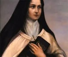 """""""If any bad thought comes to you, make the sign of the cross, or say the Our Father, or strike your breast, and try to think of something else. If you do that, the thought will actually be winning you merit, because you will be resisting it.""""                                                             -St. Teresa of Avila"""