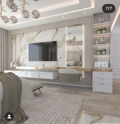 Modern Luxury Bedroom, Master Bedroom Interior, Bedroom Bed Design, Modern Bedroom Design, Home Room Design, Luxurious Bedrooms, Home Decor Bedroom, Home Living Room, Home Interior Design