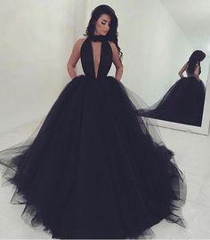 black prom dresses, keyhole prom dresses, 2017 prom dresses, sexy prom dresses, long prom dresses, tulle prom dresses, dresses for womnen