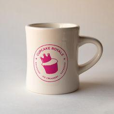 LOGO Diner Mug / Cupcake Royale's online store