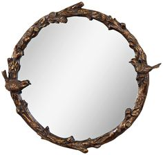 Wall Mirrors At Target threshold for target, scalloped wall mirror | $24 | fashionably