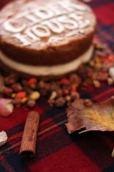 THE CIDER HOUSE: Smoked Apple Cider Cake ft. Brandy Maple Frosting + Trail Mix Streusel