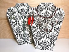 DIY: Fabric covered necklace stand