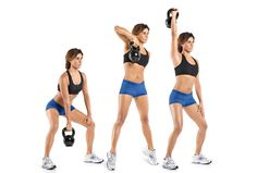 3 Kettlebell Exercises For Abs, Butt, and Legs: Single-Arm Kettlebell Snatch
