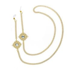 Vida Kush, correntes para óculos Aurora Borealis, Eyeglasses, Eyewear, Jewerly, Gold Necklace, Chain, Womens Fashion, Accessories, Vintage
