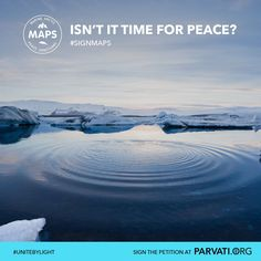 The Arctic Ocean was undisturbed for millennia. Now the ice is melting, putting it - and all life - at risk. Protect this beautiful and vulnerable ecosystem with the Marine Arctic Peace Sanctuary (MAPS). Please sign and share the petition today at Parvati.org.