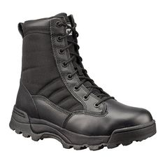 Original SWAT 9 inch Tactical Police Boots - Black