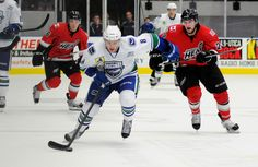 After giving away the series' first two-goal lead, the Utica Comets defeated the Oklahoma City Barons 3-2 in Game 3 of the Western Conference Semifinals at the Cox Convention Center. The Comets have now taken a 2-1 series lead.
