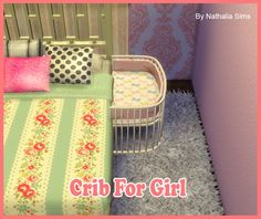 Crib for Boy and Girl at Nathalia Sims via Sims 4 Updates