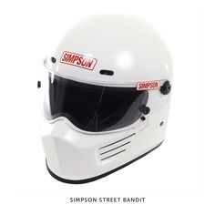 The Simpson Bandit is one of those iconic helmet designs that everyone recognizes: It's the two-wheeled equivalent of the Simpson Diamondback worn by The Stig in Top Gear. Safety has never been the Bandit's strong point though—until now. The helmet has been revamped and re-released, and today meets the Snell M2010 standard as well as DOT. Click through for ordering details. (We'll take ours in white, please.)