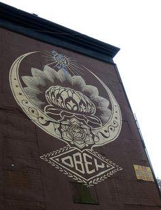 Obey Propaganda by Shepard Fairey Shepard Fairey Obey, Graffiti Tagging, Rocker Chic, Street Art Graffiti, Street Artists, Ptsd, Art Reference, Amazing Art, Party Time