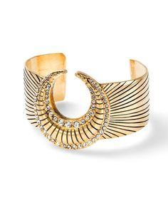 The Nefertiti Bracelet by JewelMint.com, $198.00 #12DaysofMint