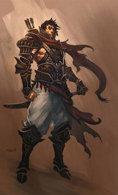 Ranger Concept from Diablo III