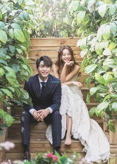 korea wedding studio Areegraphy new sample Couple Photoshoot Poses, Pre Wedding Photoshoot, Wedding Poses, Wedding Couples, Wedding Dresses, Korean Wedding Photography, Photography Ideas, Before Wedding, Photo Couple