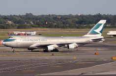 CATHAY PACIFIC CARGO, BOEING 747 (747-400), B-HKS, at JFK, New York, USA. July, 2010