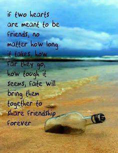 Friends no matter the distance :)