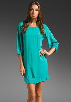 93c0c11126e35 Splendid Shift Dress in Shamrock Green Shift Dress, Blue Bridesmaids, Jewel  Tones, Revolve