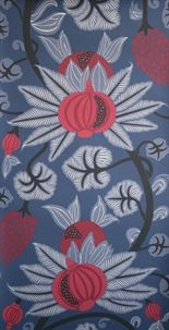 Nice large scale wallpaper for dinning room. Osborne & Little: Osborne And Little Wallpaper, Red Wallpaper, Wallpaper Online, Blue Wallpapers, Wallpaper Ideas, Quirky Wallpaper, Botanical Wallpaper, Wallpaper Designs, Wallpaper Samples