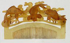 Japanese Kushi Themes   Barbaraanne's Hair Comb Blog