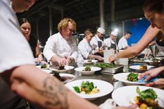 Action shot from an incredible night at ATP Conference Centre for Variety Australia's Variety of Chefs annual gala dinner. It was an absolute pleasure to help raise vital funds for children in need and these talented chefs did not disappoint with the spectacular dishes they created on the evening.