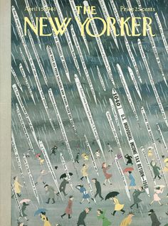 The New Yorker - Saturday, April 15, 1961 - Issue # 1887 - Vol. 37 - N° 9 - Cover by : Charles E. Martin