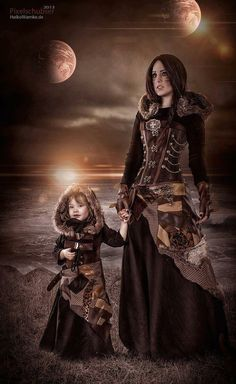 Steampunk Dream -omg, this is what Amelia would wear in my book!