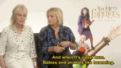 A Guide To Being More Ab Fab, By Joanna Lumley And Jennifer Saunders