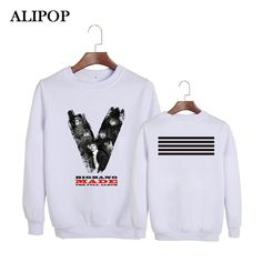 ALIPOP Kpop Korean Bigbang The 3rd Album GD G-Dragon TOP MADE THE FULL Album Cotton Hoodies Clothes Pullovers Sweatshirts PT330 #Affiliate