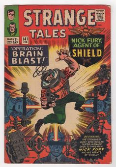 Strange Tales 141 1966 Marvel Comics   eBay