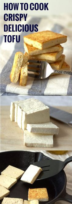 Not sure how to cook tofu? This step-by-step tutorial will have you cooking restaurant-worthy tofu that's deliciously crisp on the outside, while moist and tender on the inside.