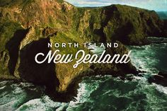 New Zealand, Postcard by Vince Soliven