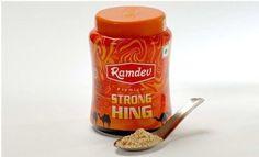Ramdev Premium Strong Spice Hing Powder Natural Asafoetida Extract Powder 50gm #Ramdev