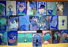 Image result for picasso's blue and rose periods kids