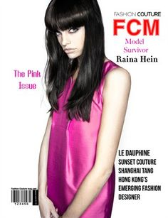"""Fashion Couture Magazine: Fashion Couture Magazine """" Pink Issue"""" Vol.2 No.6, $9.00 from MagCloud"""
