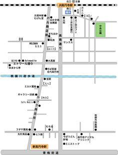 高円寺 長仙寺 地図 - Google 検索
