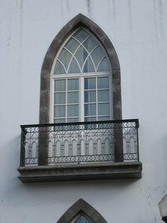 balcony Filigree wrought iron balcony