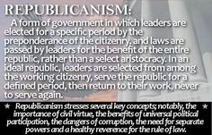 A quick resume of why we are a Republic, not a Democracy!