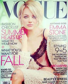 Emma Stone Vogue Cover July 2012
