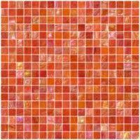 Image detail for -Inch Scarlet Orange Iridescent Glass Tile. LOVE!