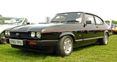 Black Ford Capri 2.8i