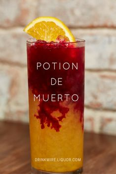 Tequila Time: Potion de Muerto is Creepy as Hell! Is the secret ingredient really blood?