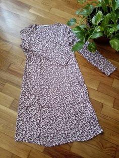 Camisón leopardo rosa
