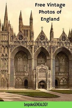 Free Vintage Photos of England. This post looks at the free resources available on the Historic England website. Old photos can be really useful for British genealogy research. This site gives access to thousands of historic photos of places in England. #bespokegenealogy #genealogy #uk Free Genealogy Sites, Genealogy Research, Family Genealogy, Old Photos, Vintage Photos, Images Of England, Family Tree Research, Genealogy Organization, Places In England
