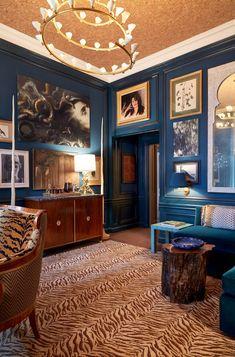 Markham Roberts Gentleman's study for Kips Bay Show House