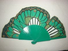 fan - butterfly wing,  ABANICO PINTADO A MANO DISEÑO EXCLUSIVO
