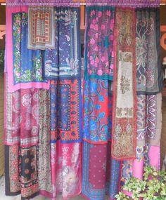 COLETTE IN PARIS Bohemian Gypsy Curtains 256ba4f9e193
