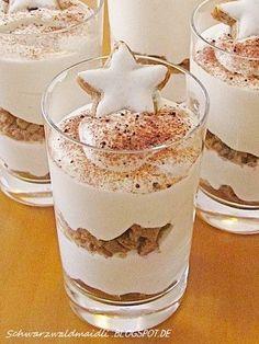 Hallo Ihr Lieben! Heute zeige ich euch das Dessert, dass es an Heiligabend geben wird. Vorausgesetzt ich finde im Umkreis noch irgendwo...