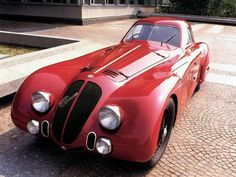 Alfa Romeo 8C 2900B Speciale LeMans 1938  I must have one but it has to have a drop top.